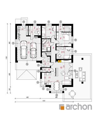 Чертеж Дом в повоях 3 (Г2)
