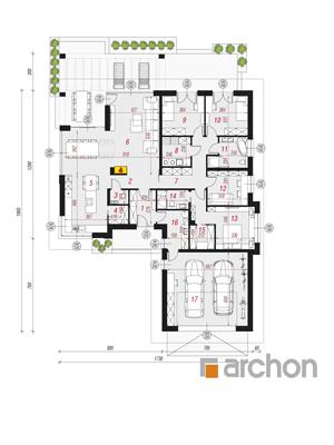 Чертеж Дом в подснежниках 2 (Г2)