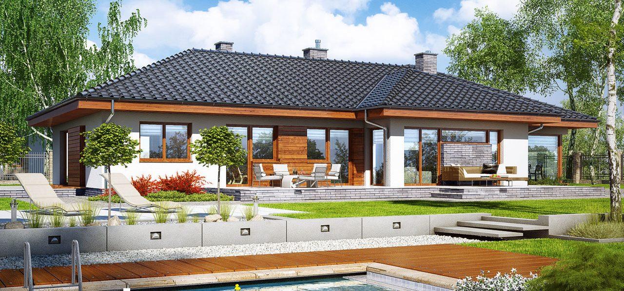 Проект Дом в амаранте 5