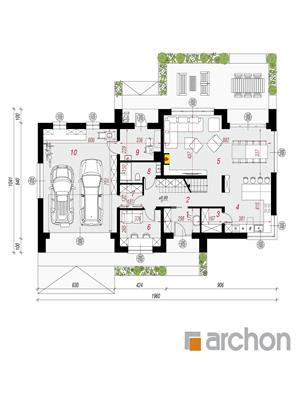 Чертеж Дом в аурорах 10 (Г2)