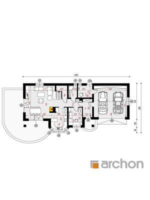 Чертеж Дом в майоране 2 (Г2)