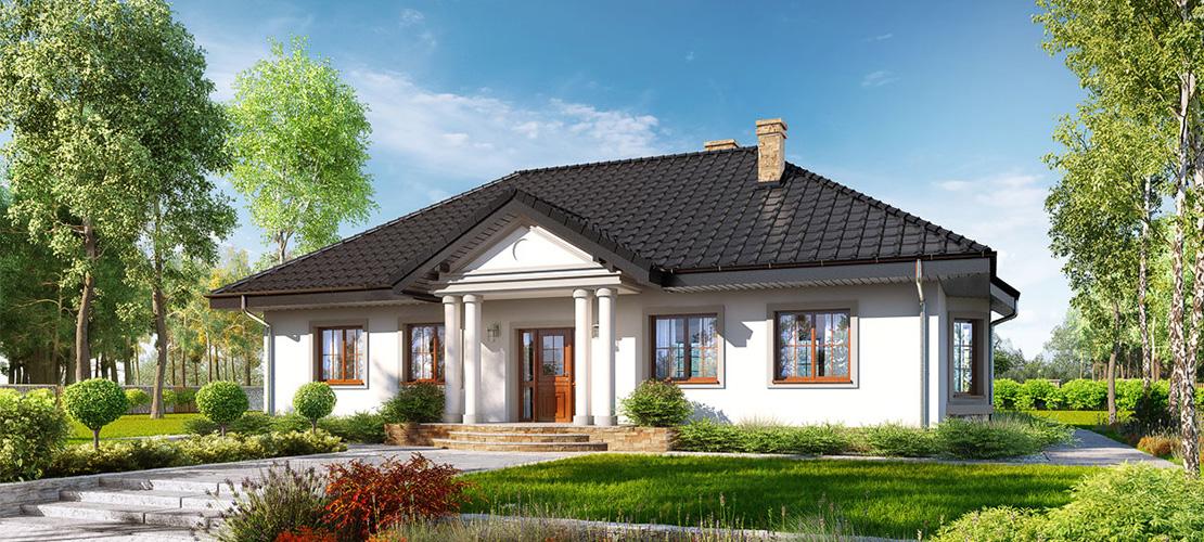 Проект Дом в гаурах 5