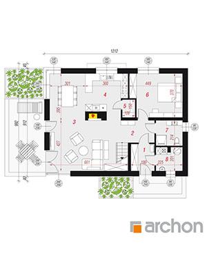 Чертеж Дом в амариллисах 8